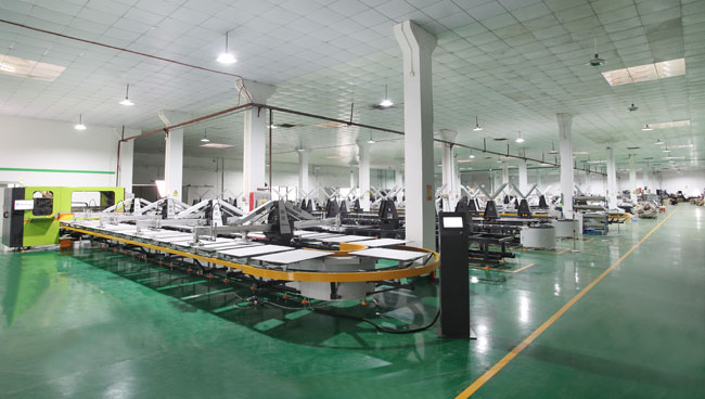 Automatic Oval Printing Machine with Digital Colors and Dryers