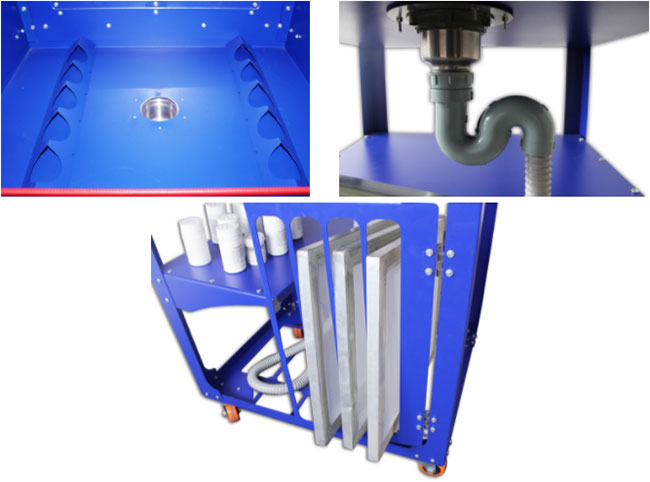 Screen Printing Frame Washout Tank