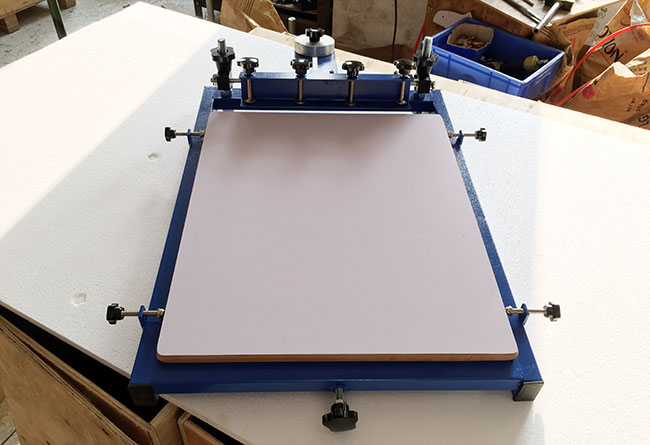 Big Patten Printer 1 Color Screen Printing Press Printer Machine Large Size