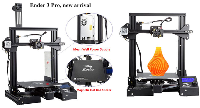 Creality Ender 3 Pro 3D Printer Magnetic Hot Bed Sticker