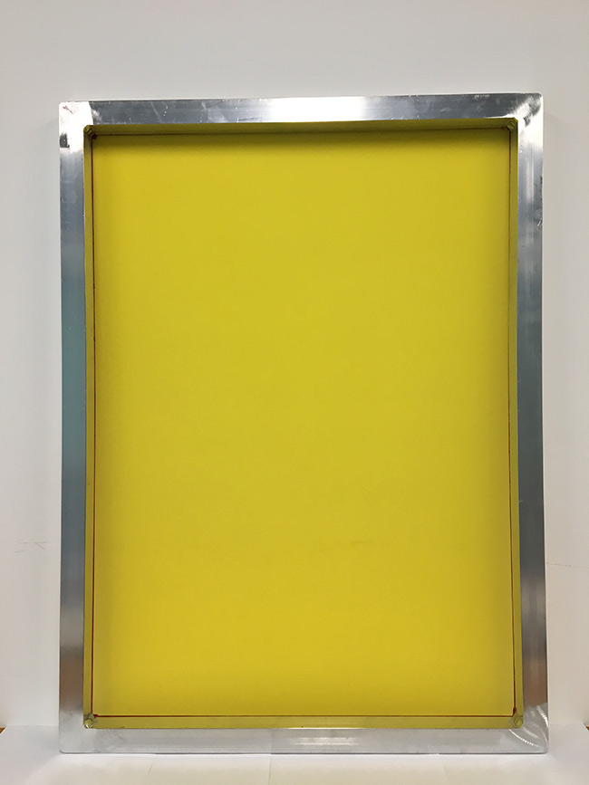 Aluminum Screen Printing Screens with 255 Yellow Mesh Count