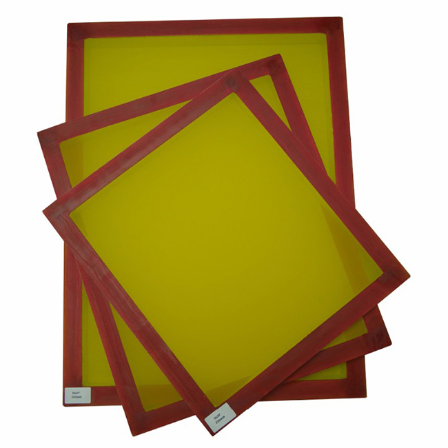 Aluminum Screen Printing Screens with 280 Yellow Mesh Count