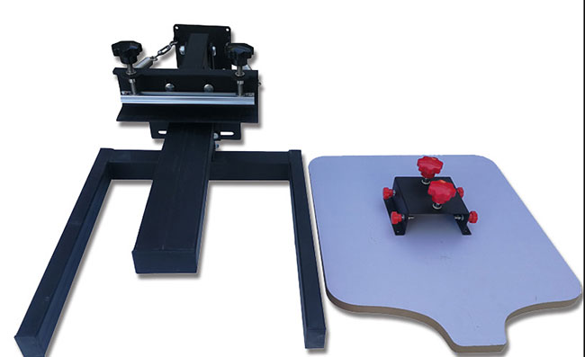 Manual 1 Color 1 Station Silk Screen Printing Machine