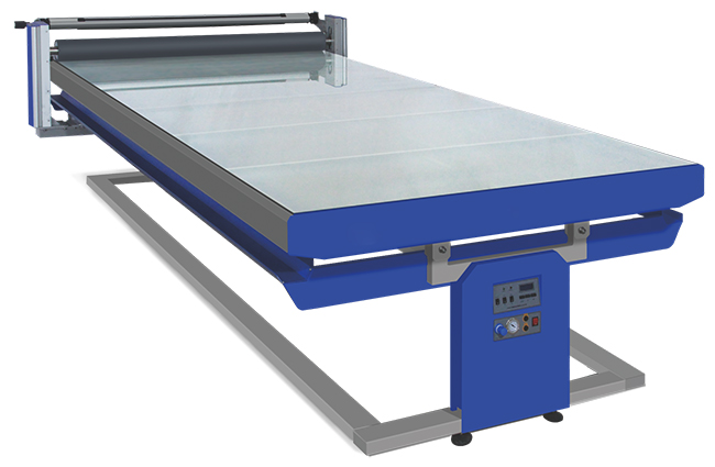 Flatbed Hot and Cold Laminator