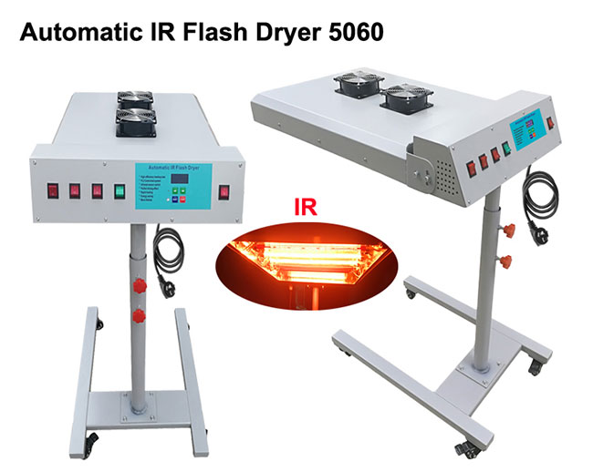 2 Modes 3 Levels Automatic IR Flash Dryer with Sensor