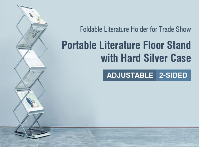 Foldable Literature Holder