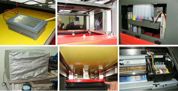 Color Inkjet Printer A3+ Size 8- (329x600mm)