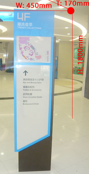 Directional signboard 036