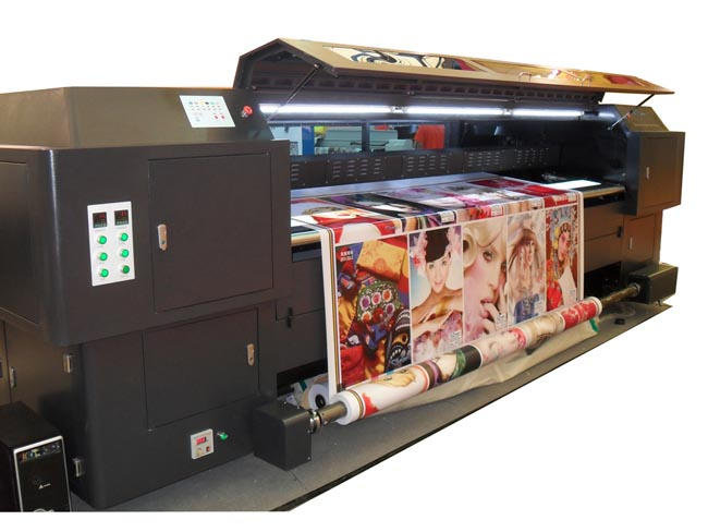 3.3M SD Series Synchro Double Side Solvent Printer (Konica512-42PL)