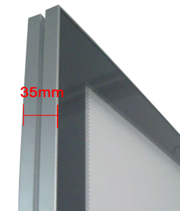 A4 Size Double-side Magnetic Slim Light Box