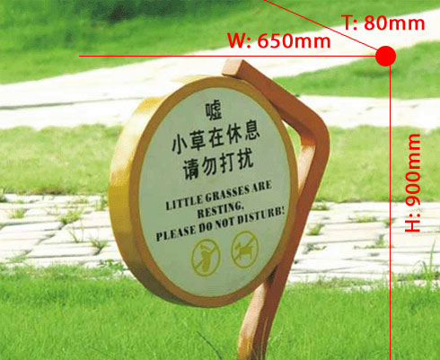Founctional signboard 024