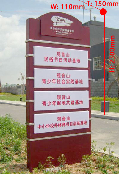 Founctional signboard 025