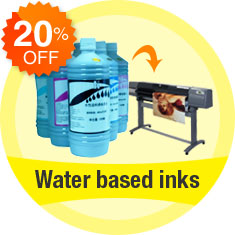 Water-based inks
