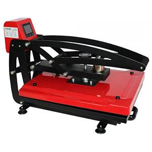 Qomolangma 16″ x 20″ Auto Open Heat Press Machine Vertical Version
