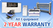 Todos os equipamentos 2 YEAR Warranty