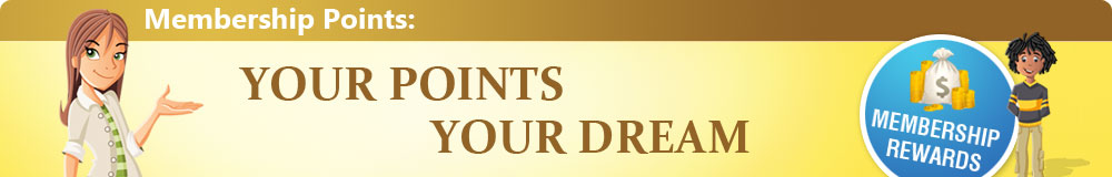 Your Points Your Dream