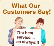 Che cosa dicono i nostri clienti!